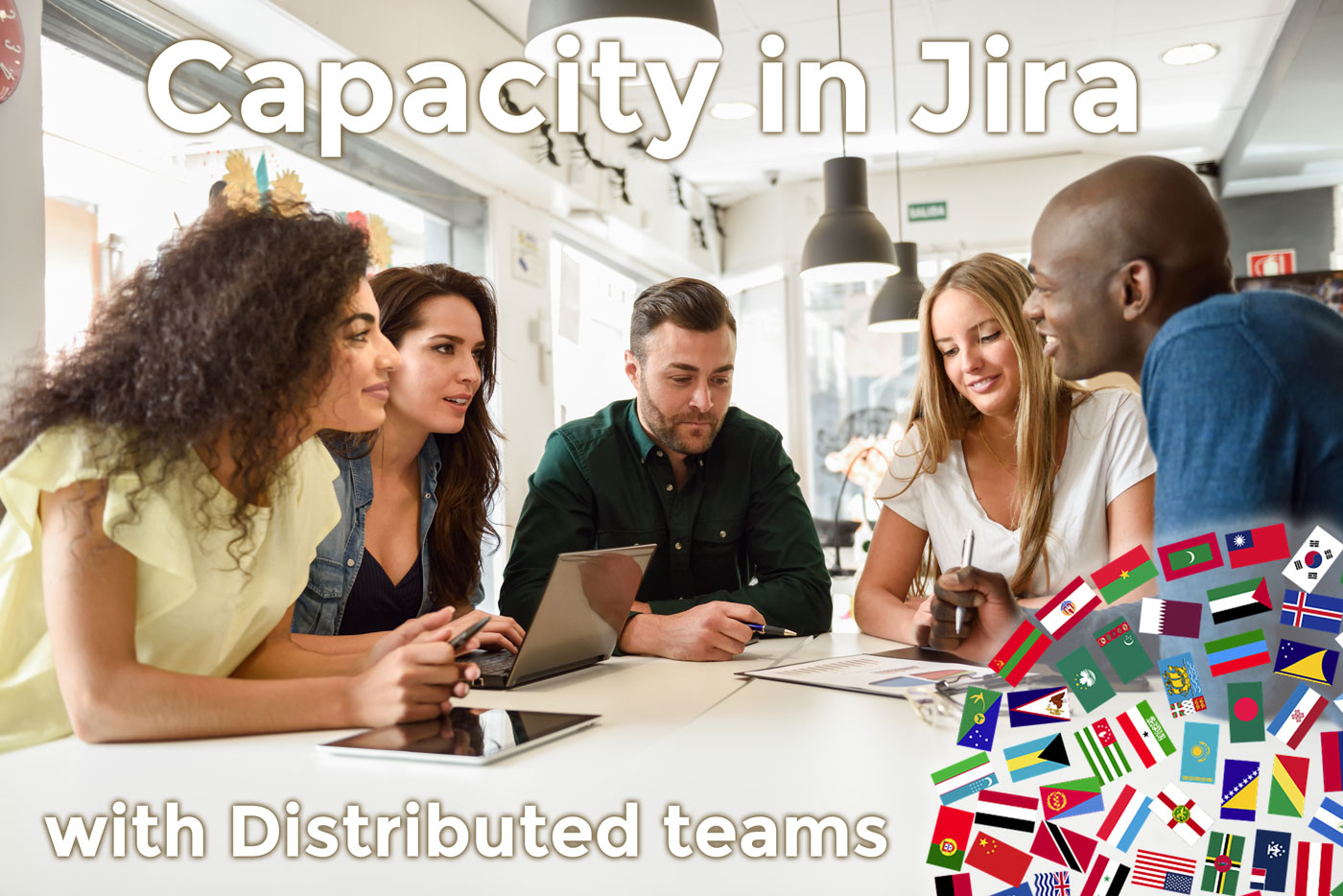 Distributed and dispersed teams capacity planning in Jira