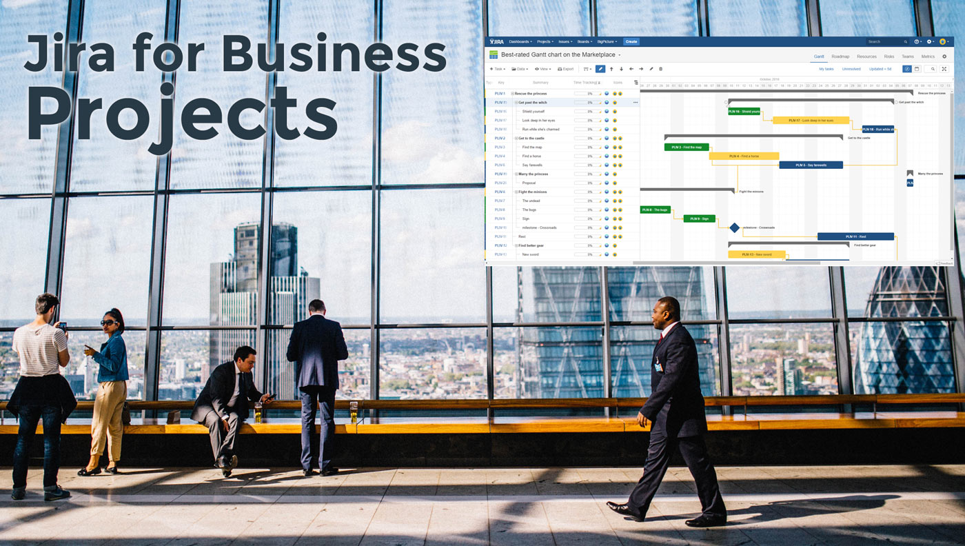 Jira for business projects