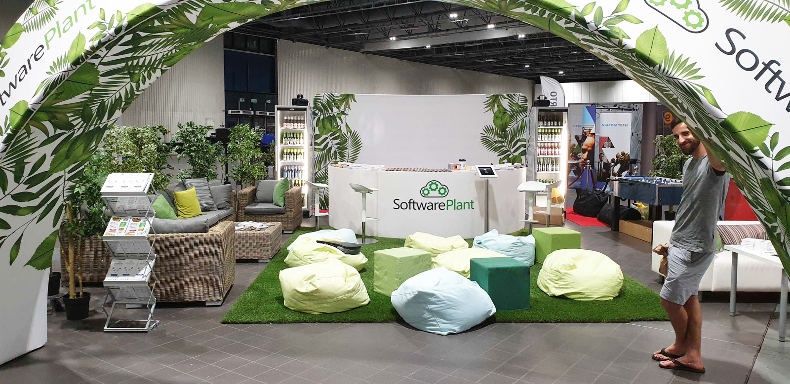 Organic stand, Java conference
