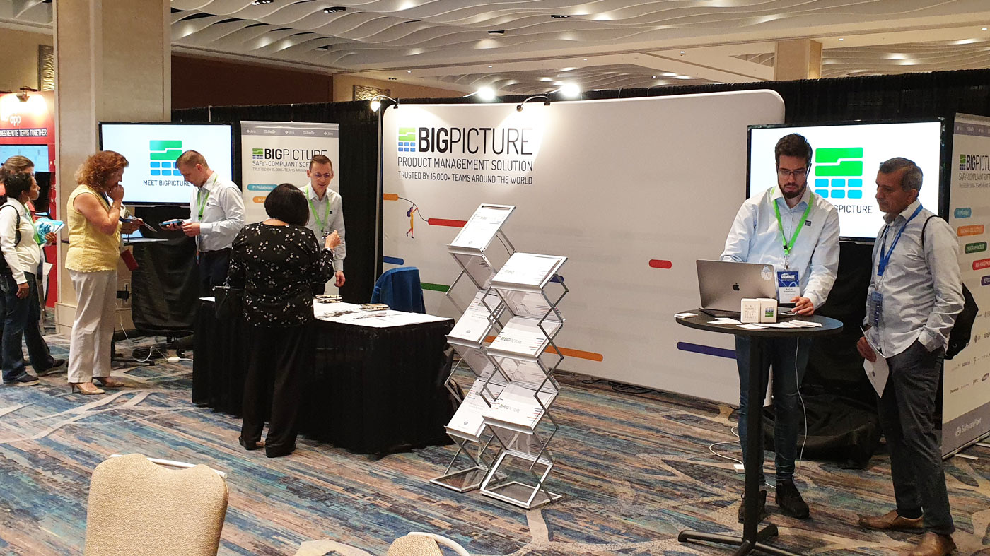 Big Picture stand at SAFe Summit