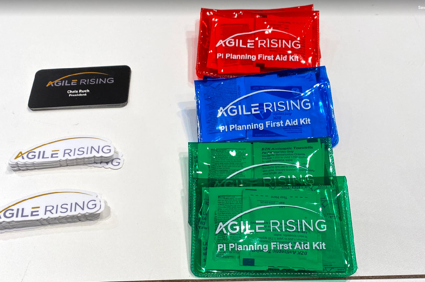 PI planning first aid kit by Agile Rising.
