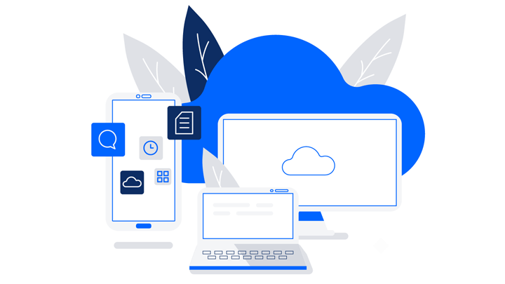 Cloud infrastructure for project management