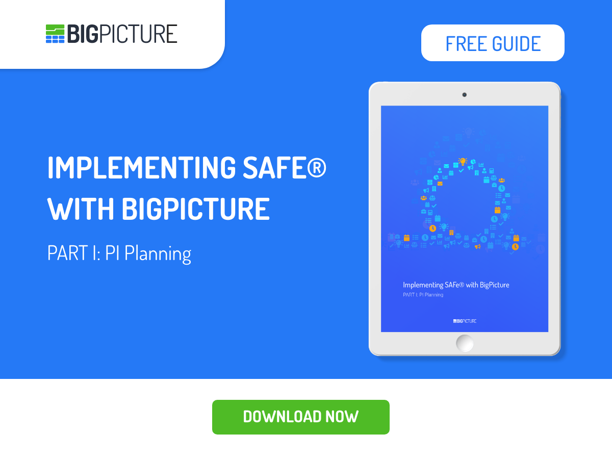 SAFe® with BigPicture part 1
